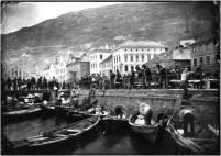 Målet er Torget der handelen fann stad i gamle dagar