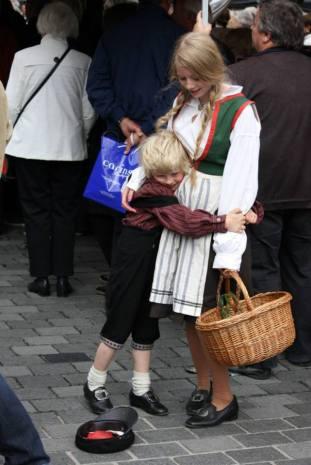 Søskenpar på Torgdagen