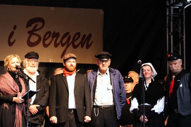 Her er styret i Torgdagen, med Sigrid-Marthe Kleppevik til venstre, Terje Inderhaug, Trond Berntsen, Nils Harald Lie, Lena Eikeland Kutschera og Svein Tore Solsvik