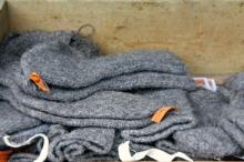 Deilig ull, sjøvottar og sokkar