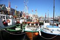 Berre trebåtar får plass inst mot Torget på Torgdagen, då vil vil heidre kystkulturen og tradisjonsbåtane