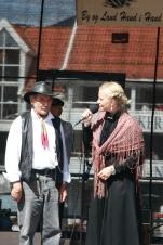 Vinnaren av beste antrekk 2012 og Sigrid Marthe Kleppevik