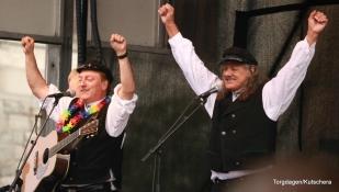 Det var eigen Torgdans konsert med Ausekarane