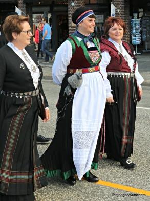 Framst i toget, Hege Therese Nilsen frå Hordaland husflidslag