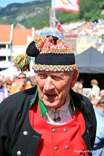 Nils Harald Lie, ein heidersmann som har vore med i Torgdagen i 40 år