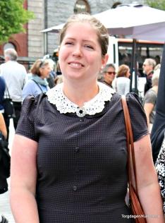 Prisvinnaren for beste klededrakt Heidi J. Mongstad