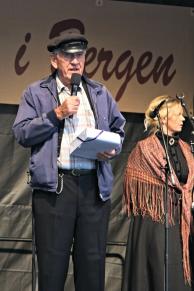 med Sigrid-Marthe Kleppevik på scena i 2013