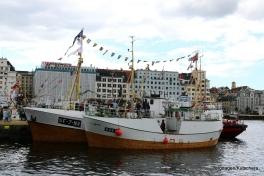 Nybakk kom frå Sogn og Fjordane, og hadde bryllup ombord på Torgdagen